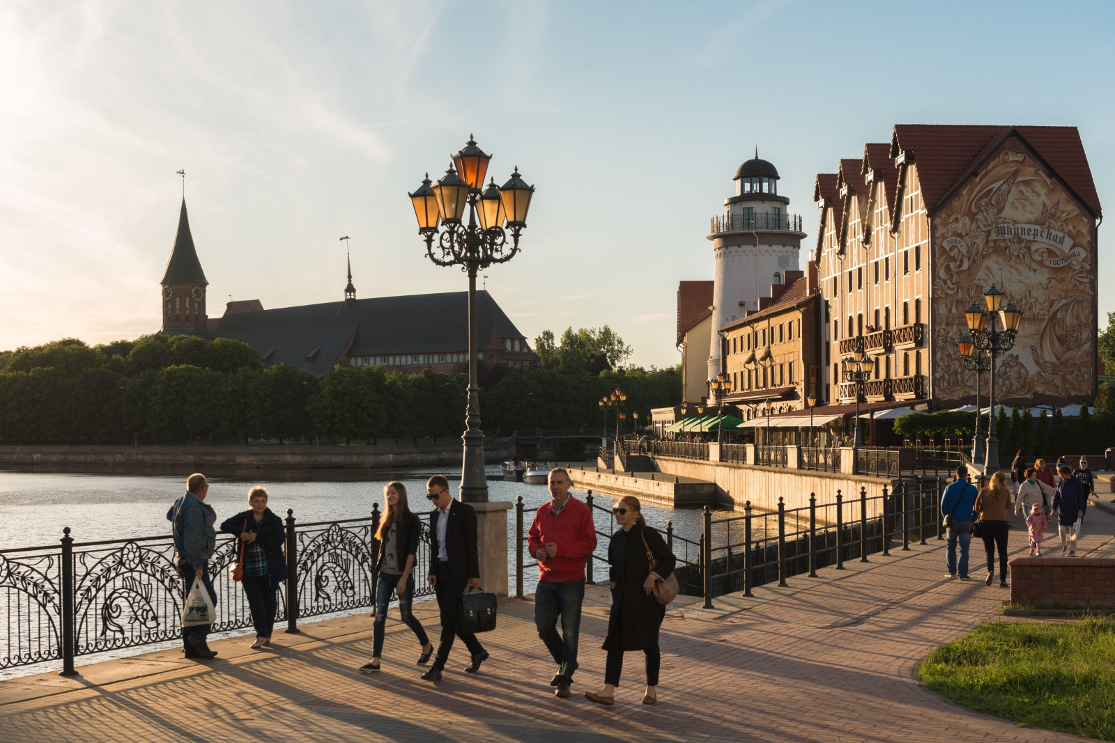 Kaliningrad Administration has planned to complete repair work on the bridge over Suvorov in July 60
